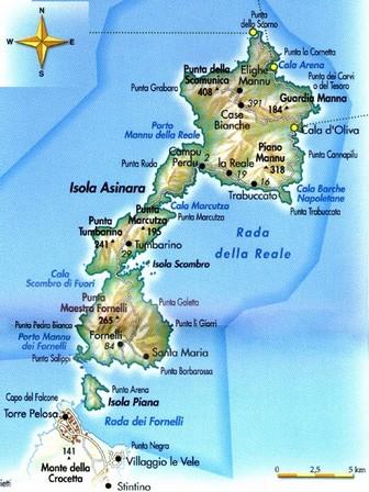 Cartina Sardegna Asinara.Asinara Isola Dell Asinara Escursione Classica Portale Della Citta Di Bosa Sardegna